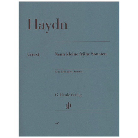 Haydn, J.: Neun kleine frühe Sonaten
