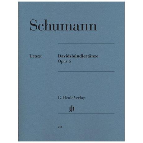 Schumann, R.: Davidsbündlertänze Op. 6