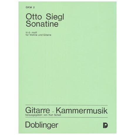 Siegl, O.: Sonatine d-moll