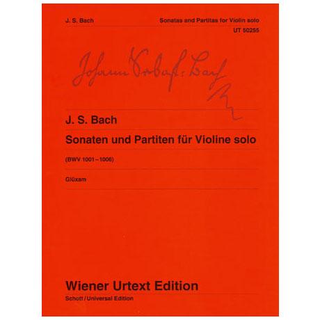 Bach, J.S.: Sonaten und Partiten (BWV1001-1006)