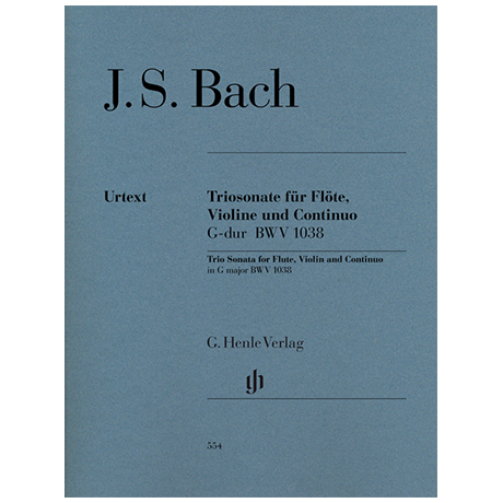 Bach, J.S.: Triosonate BWV1038 G-Dur