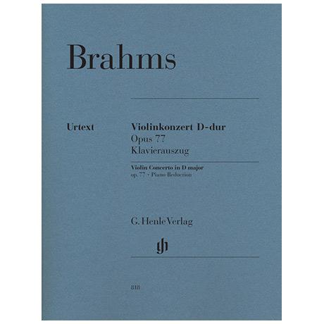 Brahms, J.: Konzert Op. 77 D-Dur