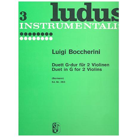 Boccherini, L.: Duett G-Dur