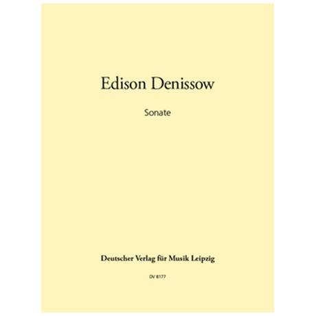 Denissow, E.: Sonate für Violine und Orgel (1982)