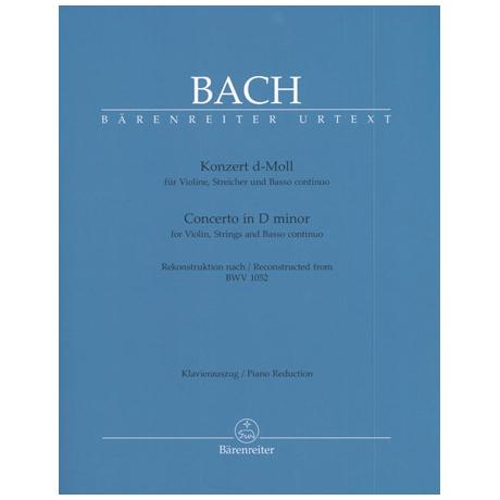 Bach, J.S.: Konzert d-Moll BWV 1052