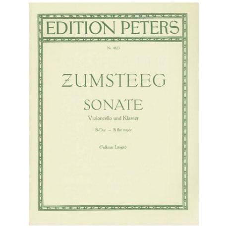 Zumsteeg, J.R.: Sonate B-Dur