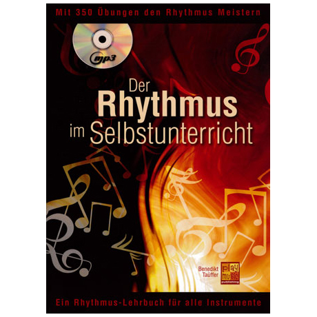 Täuffer, B.: Der Rhythmus im Selbstunterricht (+CD)