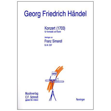 Händel, Georg Friedrich: Konzert (1703)