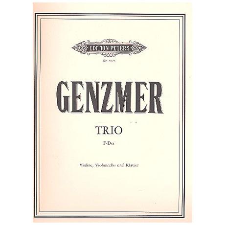 Genzmer, H.: 1. Klaviertrio