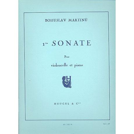 Martinu, B.: Sonate Nr. 1