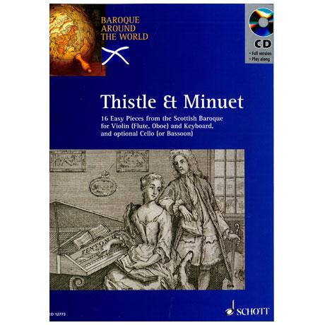 Thistle and Minuet (+ CD) - 16 Stücke für Violine
