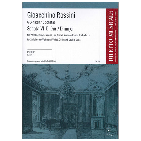Rossini, G. A.: Violasonate Nr. 6 G-Dur