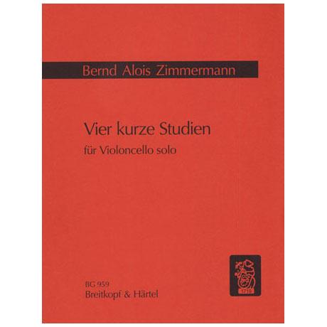 Zimmermann, B.A.: 4 kurze Studien