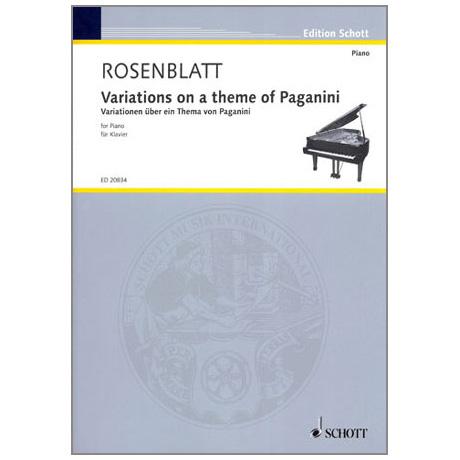 Rosenblatt: Variations on a theme of Paganini