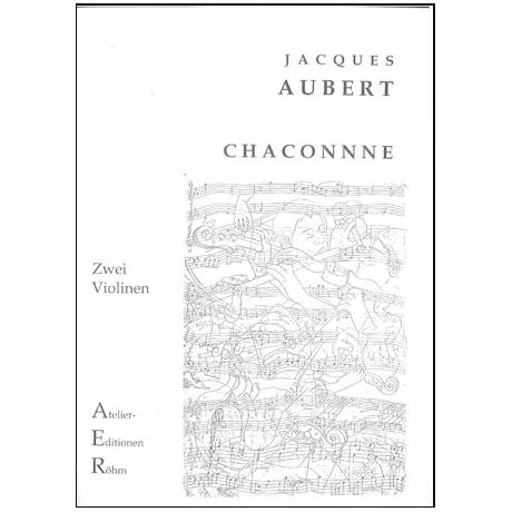Aubert, J.: Chaconne in a-moll