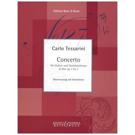 Tessarini, C.: Concerto G-Dur Op.1 Nr.3
