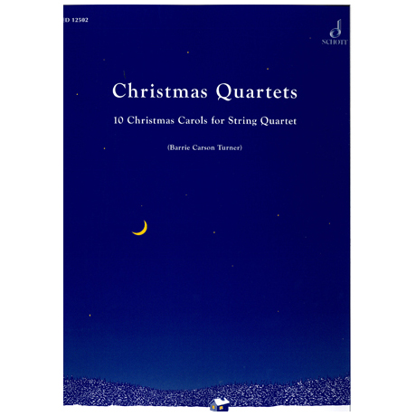 Turner, B.C.: Christmas Quartets