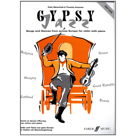 Polly Waterfield/Timothy Kraemer: Gypsy Jazz Easy Level