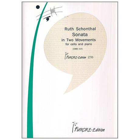 Schonthal, R.: Sonate in zwei Sätzen