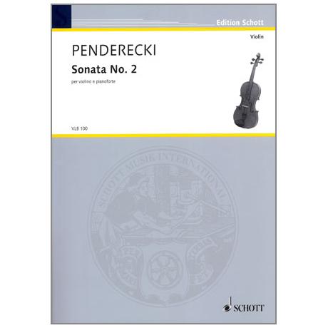 Penderecki, K.: Violinsonate Nr. 2