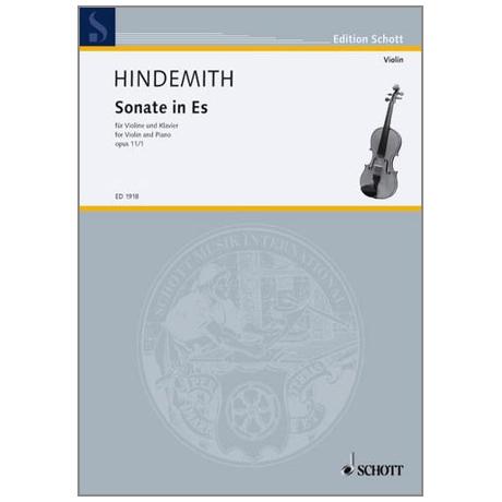 Hindemith, P.: Violinsonate Op. 11/1 Es-Dur