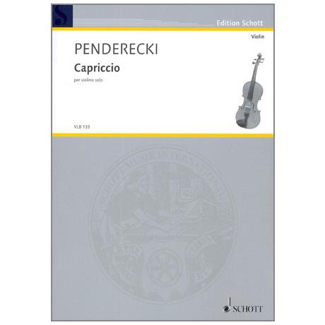 Penderecki, K.: Capriccio