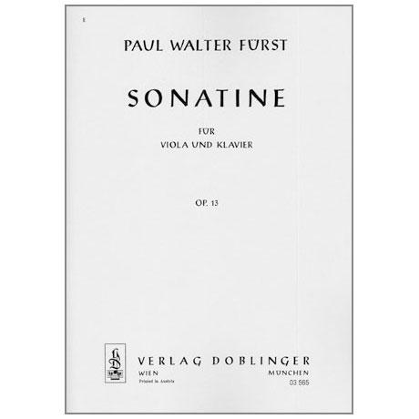 Fürst, P. W.: Violasonatine Op. 13