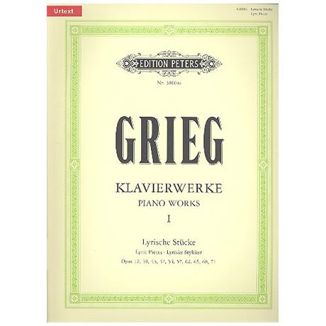 Grieg, E. H.: Klavierwerke I – Lyrische Stücke