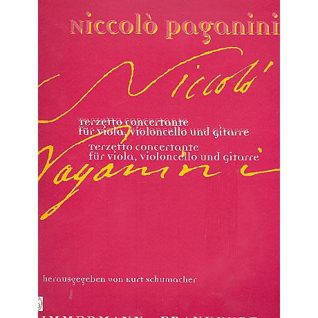 Paganini, N.: Terzetto concertante D-Dur