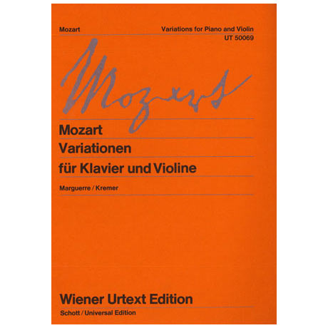 Mozart, W.A.: Variationen KV 359 KV 360