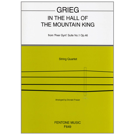 Grieg, E.: In the Hall of the Mountain King Op. 46