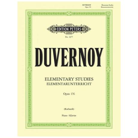 Duvernoy: Elementar-Unterricht Op. 176
