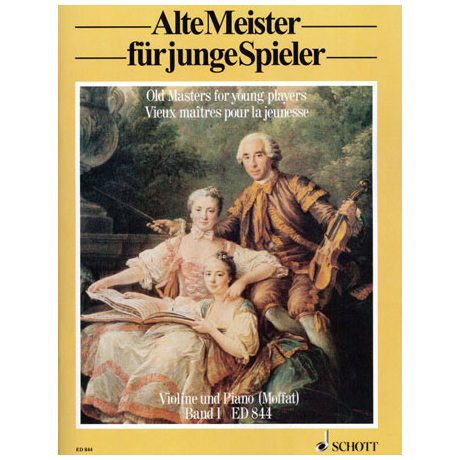 Alte Meister für junge Spieler Band 1