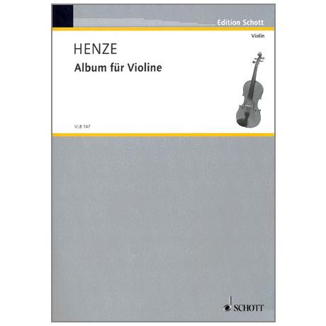 Henze: Album für Violine