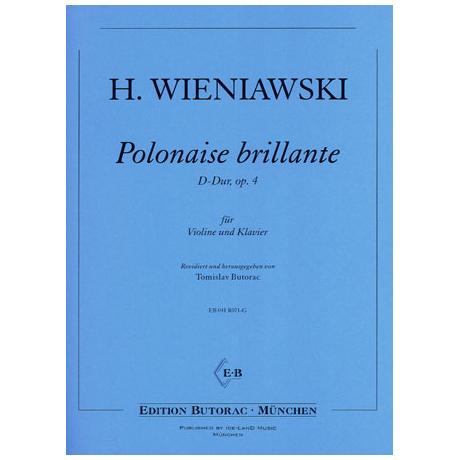 Wieniawski, H.: Polonaise brillante Op. 4 D-Dur