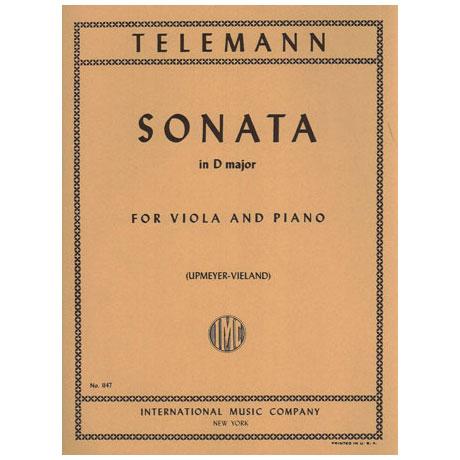 Telemann, G.Ph.: Sonate in D-Dur