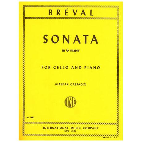 Bréval, J.B.: Sonate in G-Dur