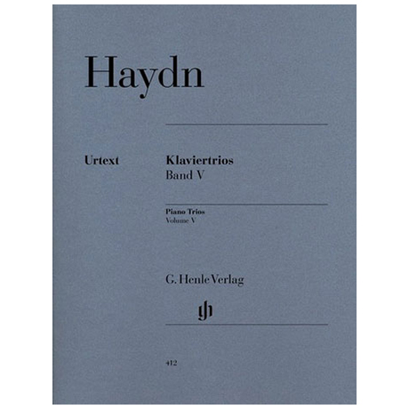 Haydn, J.: Klaviertrios Band 5, Hob XV: 27-32 Urtext
