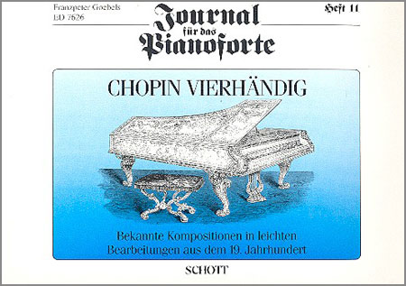 Journal für das Pianoforte – Heft 11, Chopin vierhändig