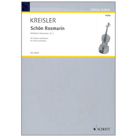 Kreisler, F.: Schön Rosmarin