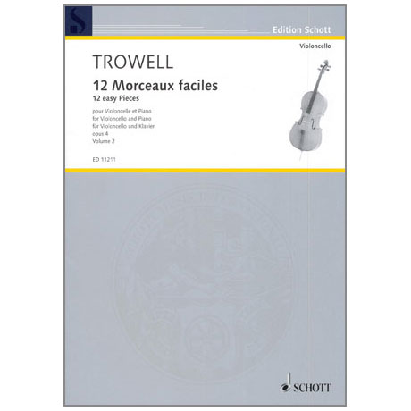 Trowell, A.: 12 Morceaux faciles Op.4 Band 2 - Nr.4-6