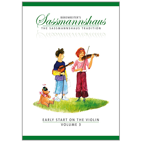 Sassmannshaus: Early Start on the Violin Vol.3
