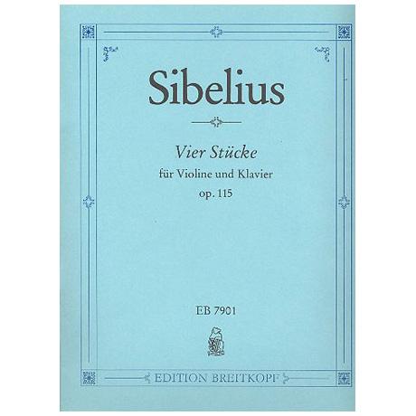 Sibelius, J.: 4 Stücke Op. 115