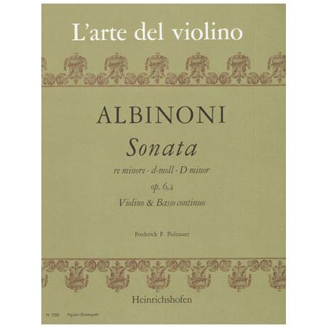 Albinoni, T.: Violinsonate Op. 6/4 d-Moll