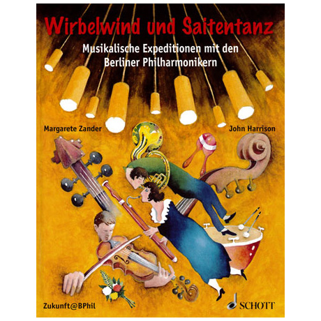 Zander, M.: Wirbelwind und Saitentanz (+ 3 DVDs)