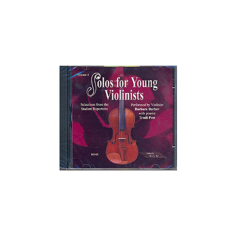 Solos for young violinists Band 4 - CD