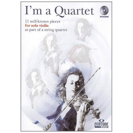 Van Rompaey, G.: I'm a Quartet (+CD)