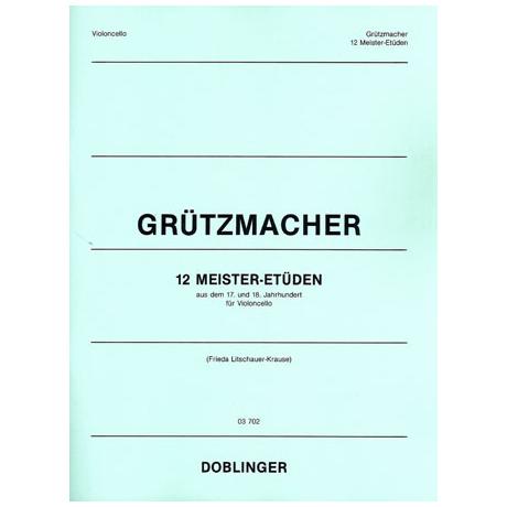 Grützmacher, F.W.: 12 Meister-Etüden aus dem 17. und 18.Jhd.
