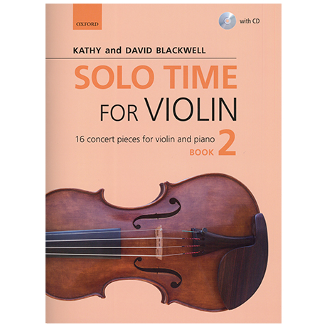 Blackwell, Kathy & David: Solo Time for Violin Book 2 (+CD)