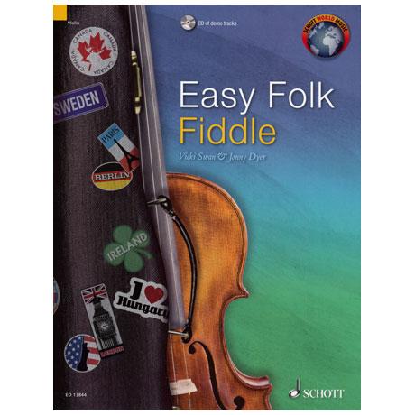 Easy Folk Fiddle (+CD)